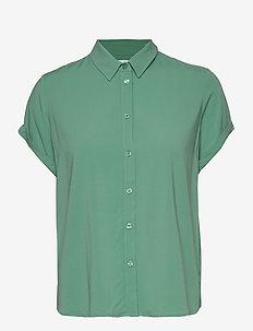 Majan ss shirt 9942 - CREME DE MENTHE