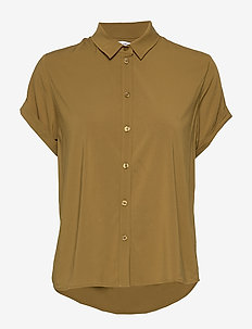 Majan ss shirt 9942 - GREEN KHAKI