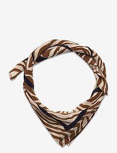 Haila scarf aop 9394 - sjaals - mountain zebra