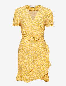 Linetta dress aop 6515 - ARANCIA