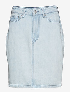 Pamela skirt 9808 - jeanskjolar - ice blue