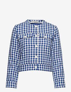 Jiang jacket 10891 - BLU CUBETTO