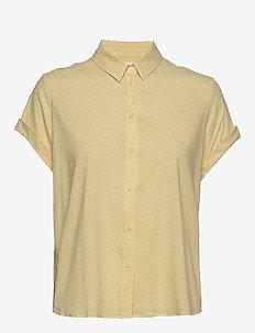 Majan ss shirt aop 9942 - kortærmede skjorter - summer drops