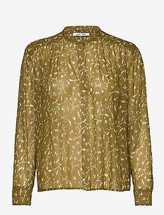 Elmy shirt aop 9695 - FEUILLES KHAKI