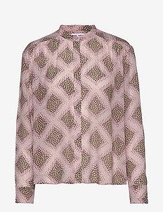 Elmy shirt aop 9695 - pitkähihaiset puserot - foulard
