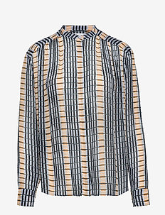 Elmy shirt aop 9695 - INCA CHECK