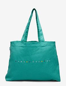 Canvas shopper 10833 - SEA GREEN