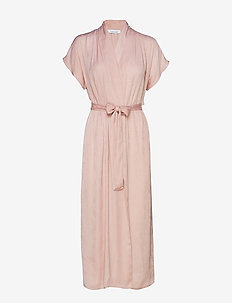 Venice long dress 10859 - PALE MAUVE