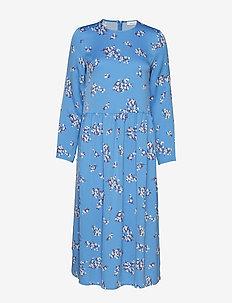 Rama dress aop 8325 - BLUE BREEZE