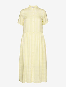 Ulla dress 10866 - YELLOW PEAR