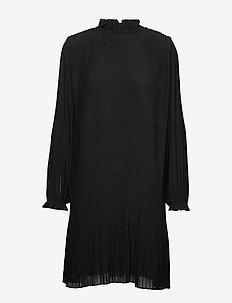 Mindy ls dress 6621 - BLACK