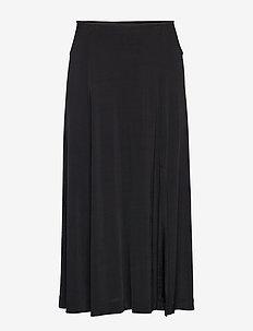 Cornea skirt 10908 - maxi nederdele - black