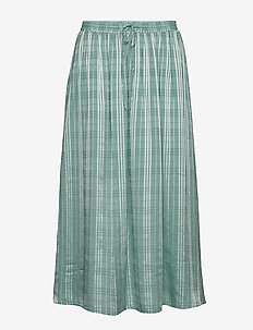 Briza long skirt 10866 - BERYL GREEN