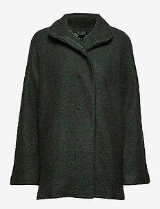 Helle jacket 6182 - wool jackets - shady glade mel.