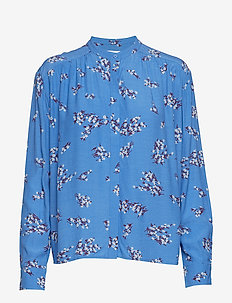 Elmy shirt aop 10864 - BLUE BREEZE