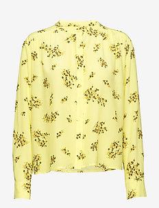 Elmy shirt aop 10864 - YELLOW BREEZE