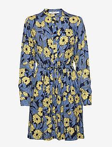 Monique shirt dress aop 8083 - midi dresses - marguerite