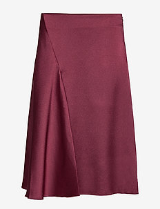 Eva skirt 11163 - TAWNY PORT
