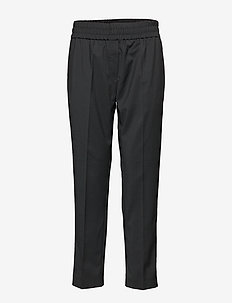 Smilla trousers 11179 - raka byxor - black
