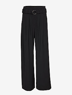 Mella pants 9711 - BLACK