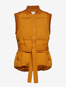 Asmine waistcoat 11109 - västar - inca gold