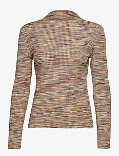 Lydia t-n t-shirt ls 11130 - MULTI SPACE DYE