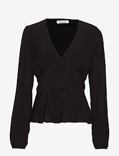 Cindy blouse 10056 - BLACK