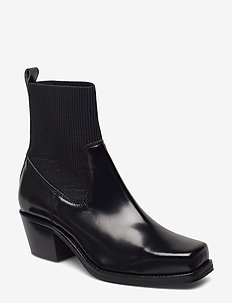 Donia boot high 9648 - BLACK