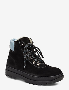 Hiker boot 6724 - BLACK ZEN BLUE