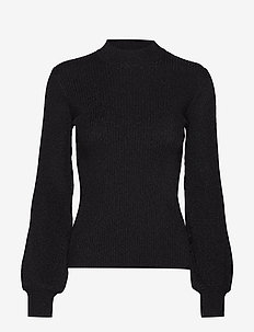 Lillie crew neck 10402 - BLACK