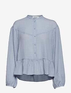 Rhonda blouse 11156 - ZEN BLUE
