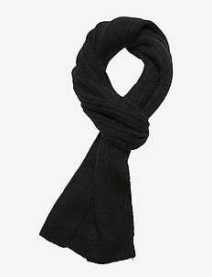 Nori scarf slim 7355 - BLACK