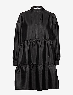Margo shirt dress 11244 - BLACK