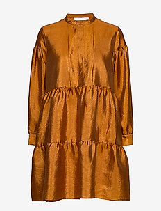 Margo shirt dress 11244 - HONEY GINGER