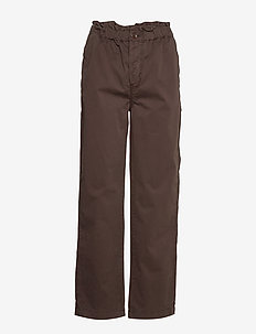 Tournon trousers 11303 - uitlopende broeken - mole