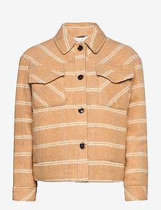 Leonie jacket 11289 - uldjakker - fenugreek ch.
