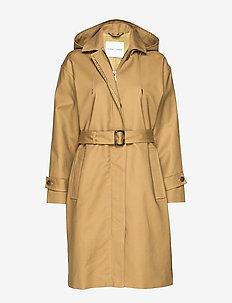 Delila coat 9732 - GREEN KHAKI