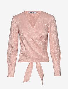 Luna blouse 11402 - ROSE FLOWER