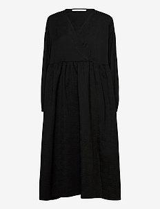 Jolie dress 11402 - vardagsklänningar - black flower