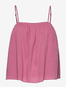 Karla top 11463 - sleeveless blouses - heather rose