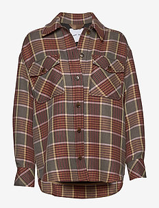 Kora overshirt 11478 - långärmade skjortor - misty rose ch.