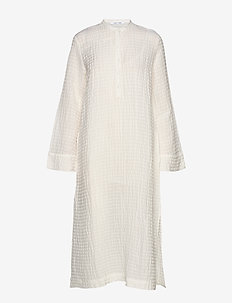 Juta shirt dress 11456 - shirt dresses - warm white