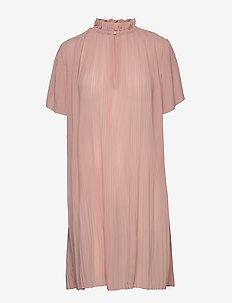 Lady ss dress 6621 - short dresses - misty rose