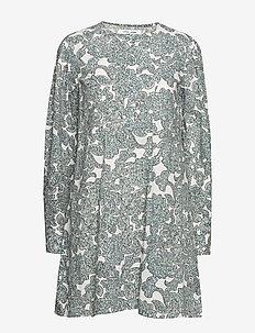 Karlene shirt dress aop 11462 - korta klänningar - tapestry