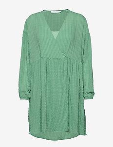 Jolie short dress 11156 - CREME DE MENTHE
