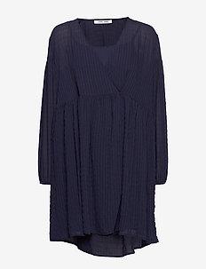 Jolie short dress 11156 - slå-om-kjoler - night sky