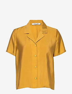 Joni ss shirt 11465 - shirts met korte mouwen - honey