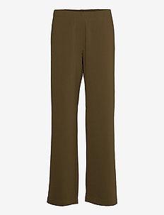 Hoys straight pants 10654 - broeken med straight ben - dark olive