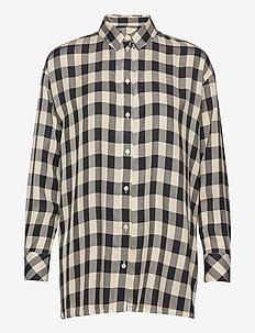 Loreta shirt 11479 - langærmede skjorter - sky captain ch.