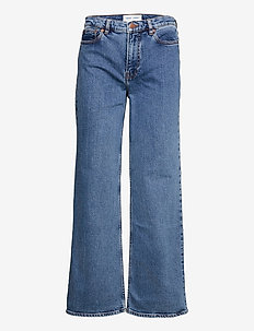 Riley jeans 11354 - brede jeans - light ozone marble